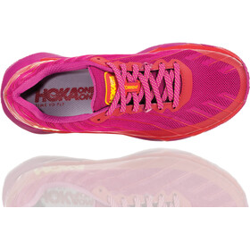 Hoka One One Torrent Hardloopschoenen Dames, cactus flower/poppy red